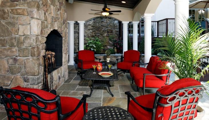 vintage outdoor patio furniture