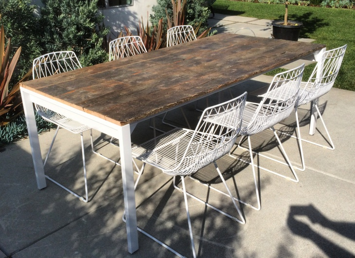 Industrial Outdoor Dining Furniture