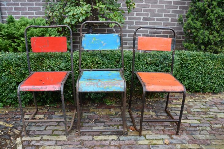 Vintage Industrial Outdoor Furniture