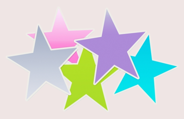 transparent star clipart