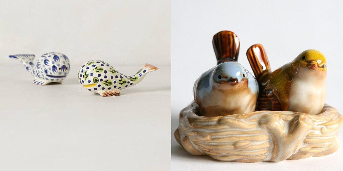 Bird Salt and Pepper Shaker