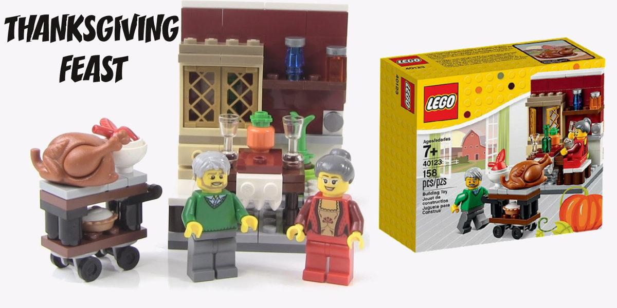 LEGO Seasonal Thanksgiving Feast