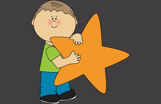Holding Star Clipart