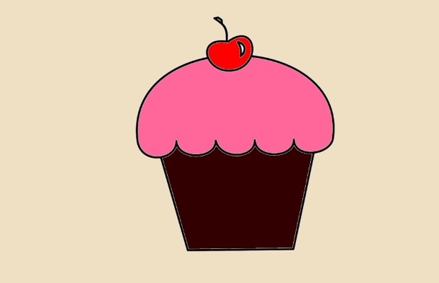 18 cupcake cliparts vector eps jpg png design