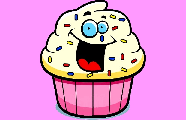 Cartoon Birthday Cake Transparent Background