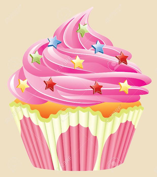 sprinkles cupcake clipart