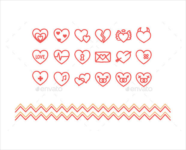 hand-drawn-heart-icons