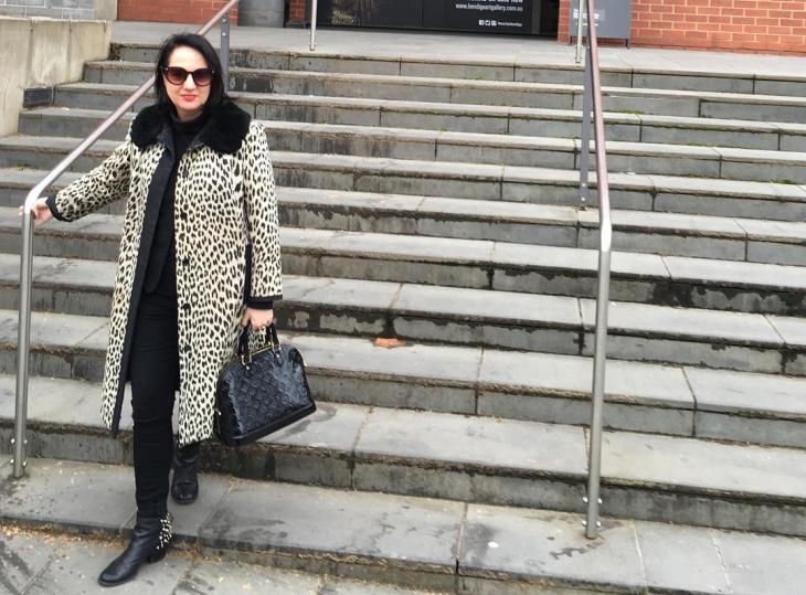 leopard print coat outfit1