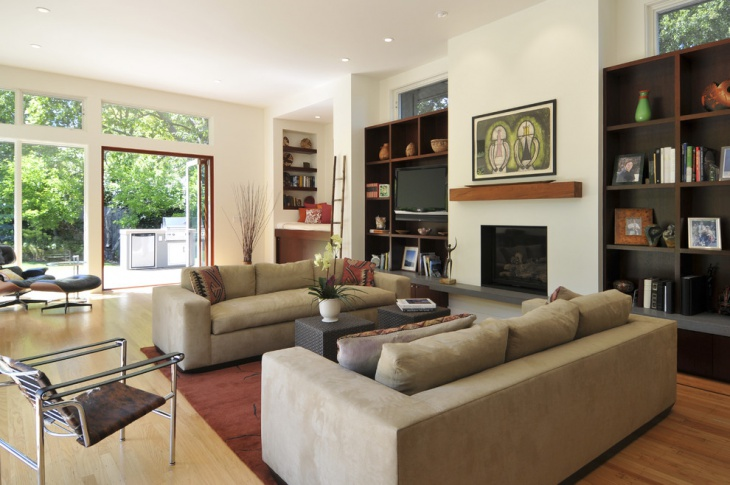 Contemporary Living Room Furniture Idea