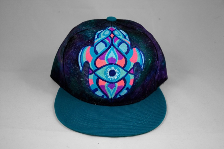 Trippy Snapback Hat Design