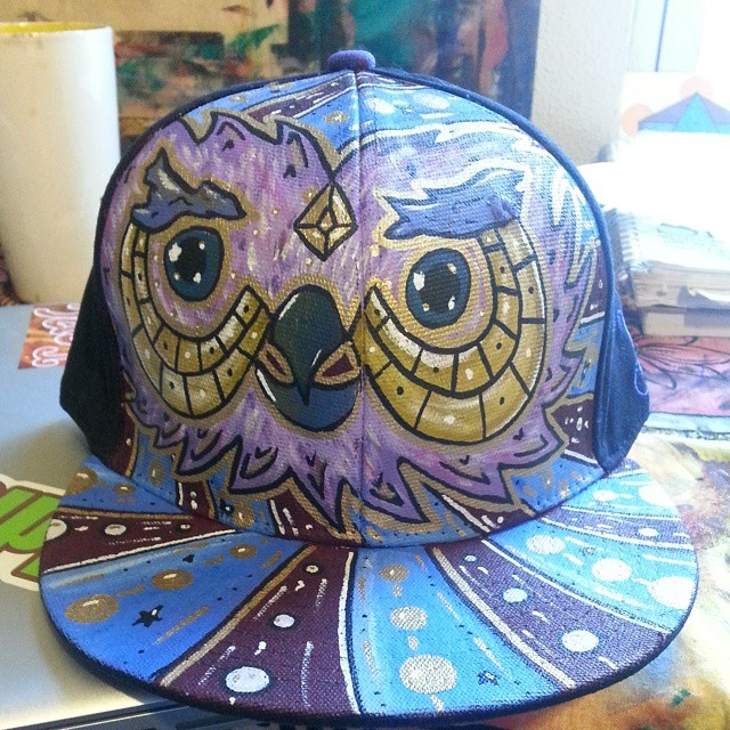 Trippy Fitted Hat