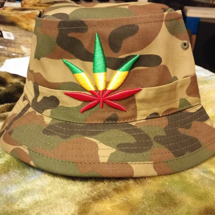 Trippy Boonie Hat Model