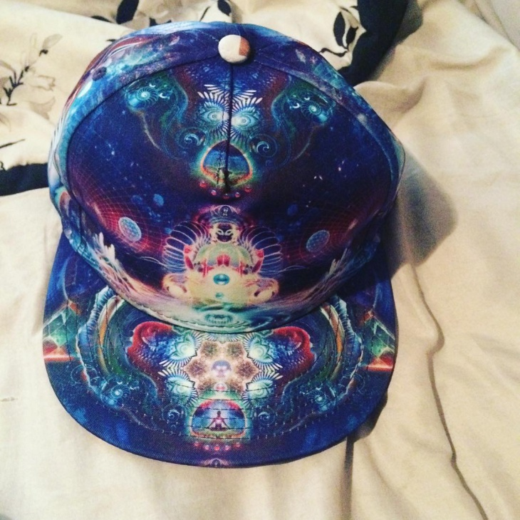 Vintage Trippy Hat Design
