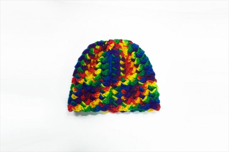 trippy beanie hat