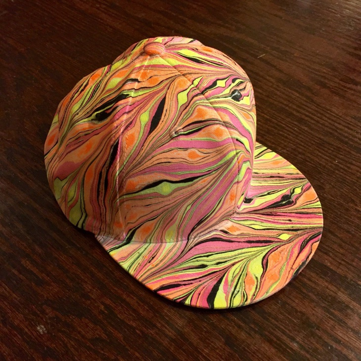 Colorful Trippy Hat Design
