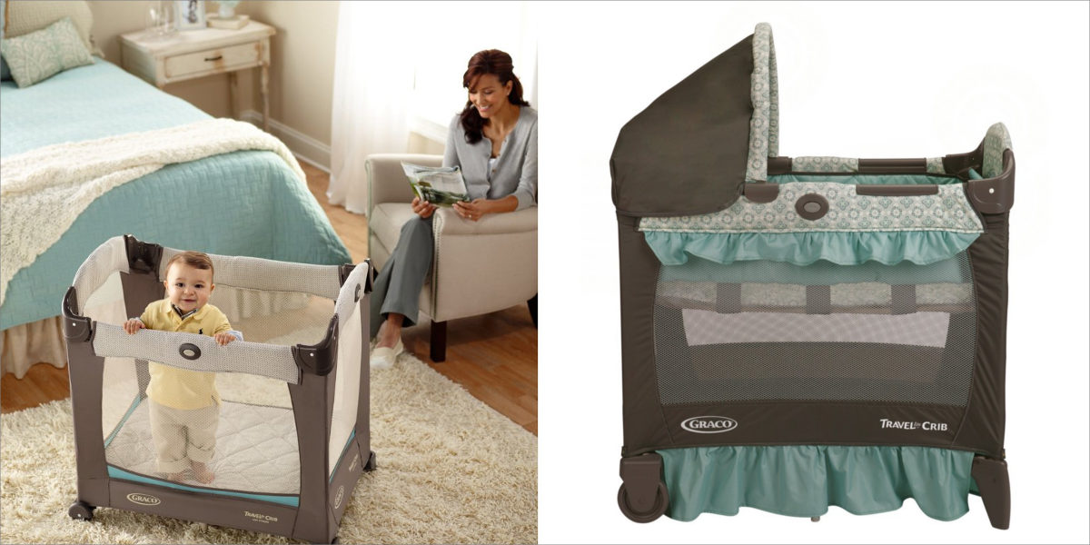 graco travel lite winslet crib