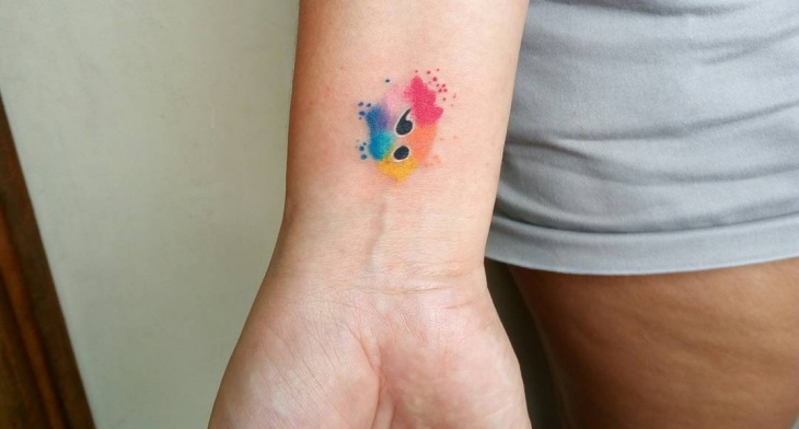 35 semicolon tattoo designs ideas design trends premium psd img trends of tattoo designs solutioingenieria Image collections