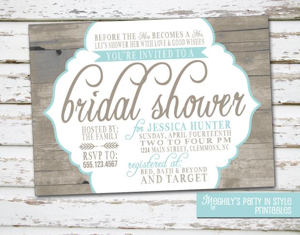 a207c8ef3bd 33+ Bridal Shower Invitations - Printable PSD