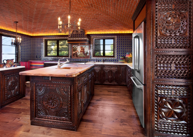 Exceptional Rustic Moroccan Kitchen Design