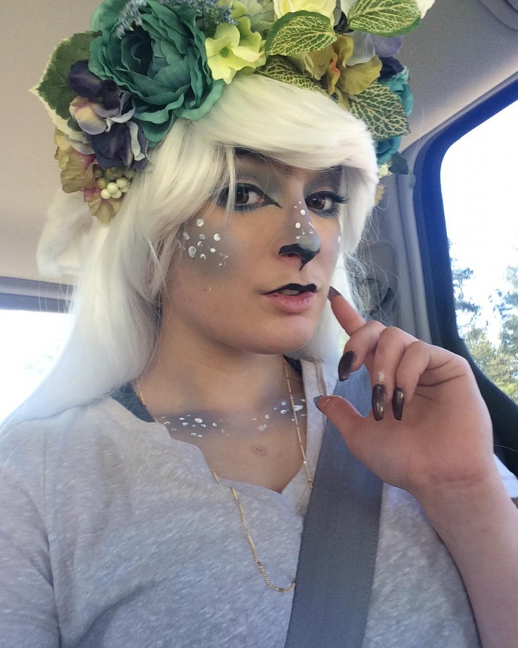 Mythological Faun Makeup