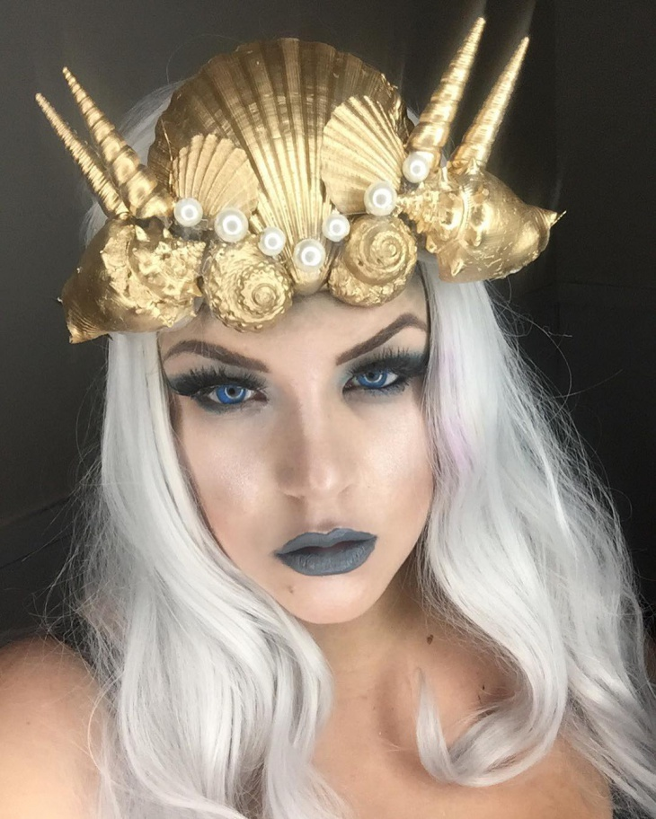Unique Mythical Makeup Idea