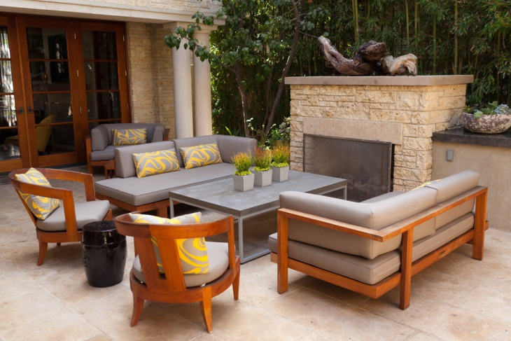 Outdoor Wood Patio Furniture
