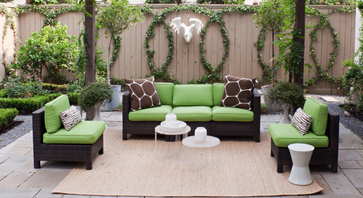 small sectional patio furniture - Sectional Patio Furniture