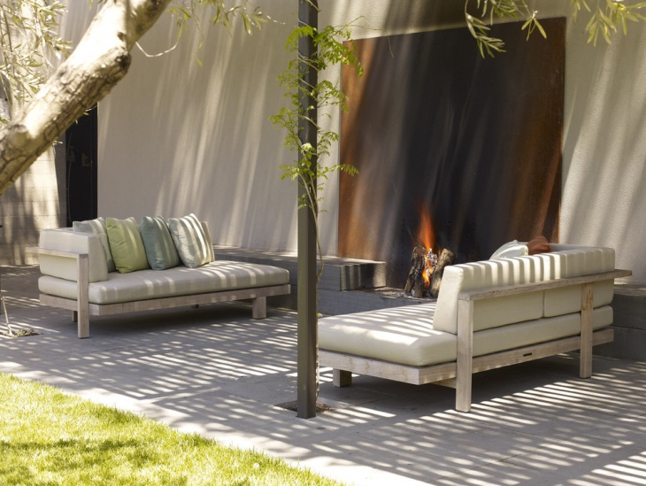 modern rustic patio furniture