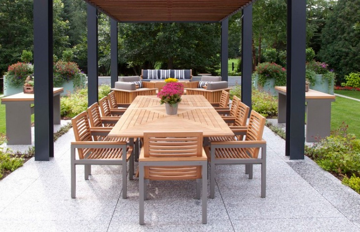 Contemporary Wood Patio Furniture