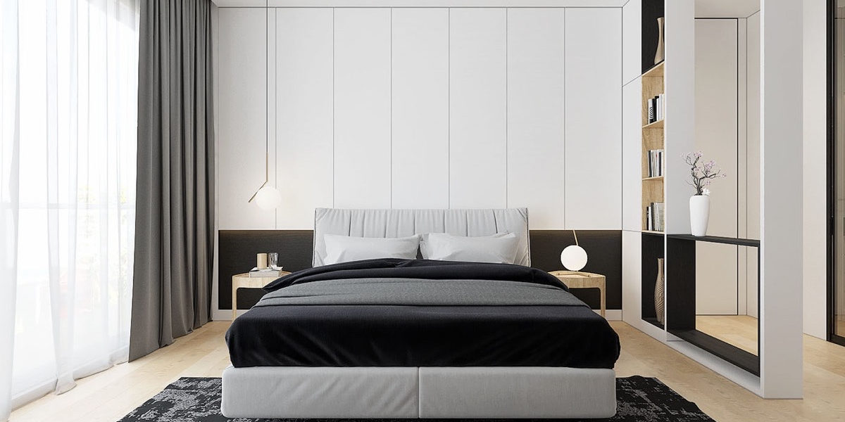varied style bedroom