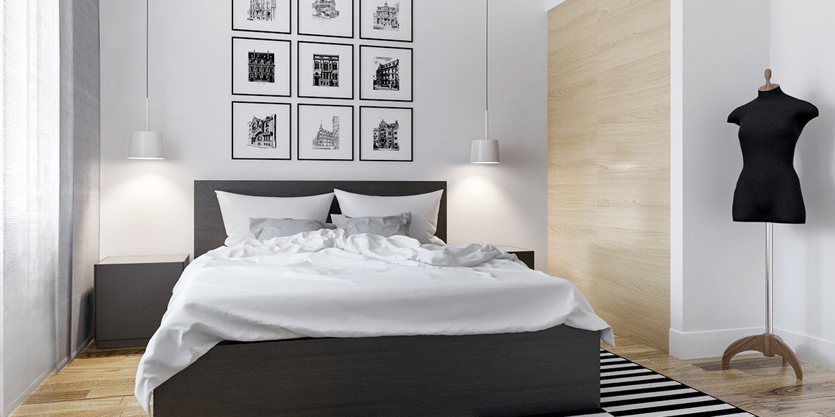 Modern Black And White Bedroom Designs Design Trends