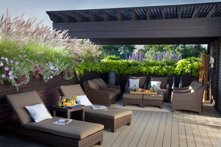Luxury Rattan Patio Furniture