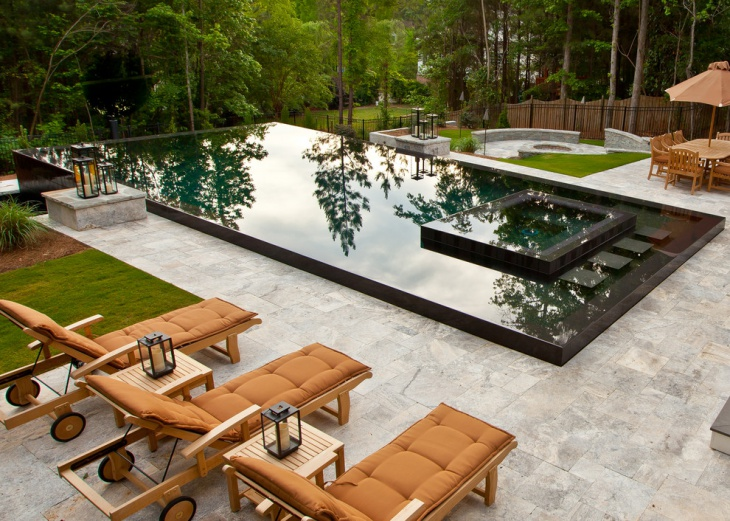contemporary pool patio furniture