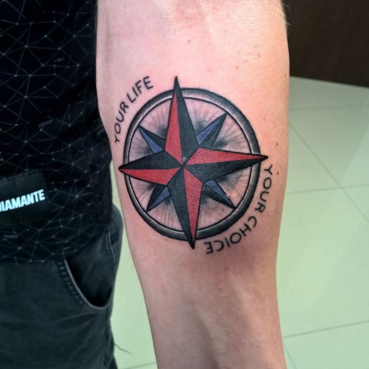Star Half Sleeve Tattoo