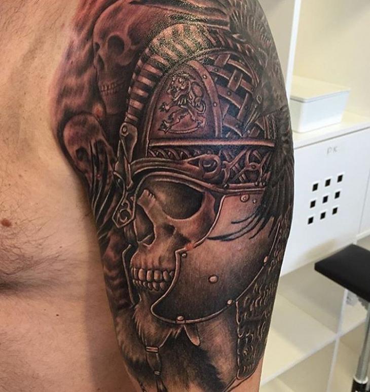 Celtic Viking Sleeve Tattoo