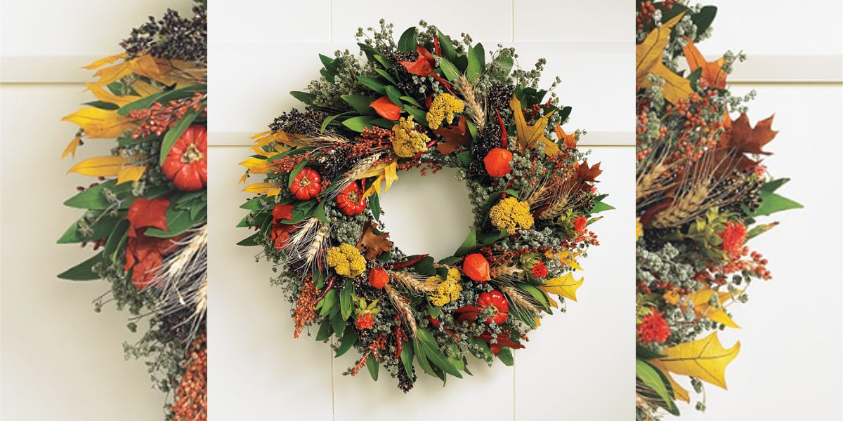 Williams-Sonoma Fall Abundance Wreath