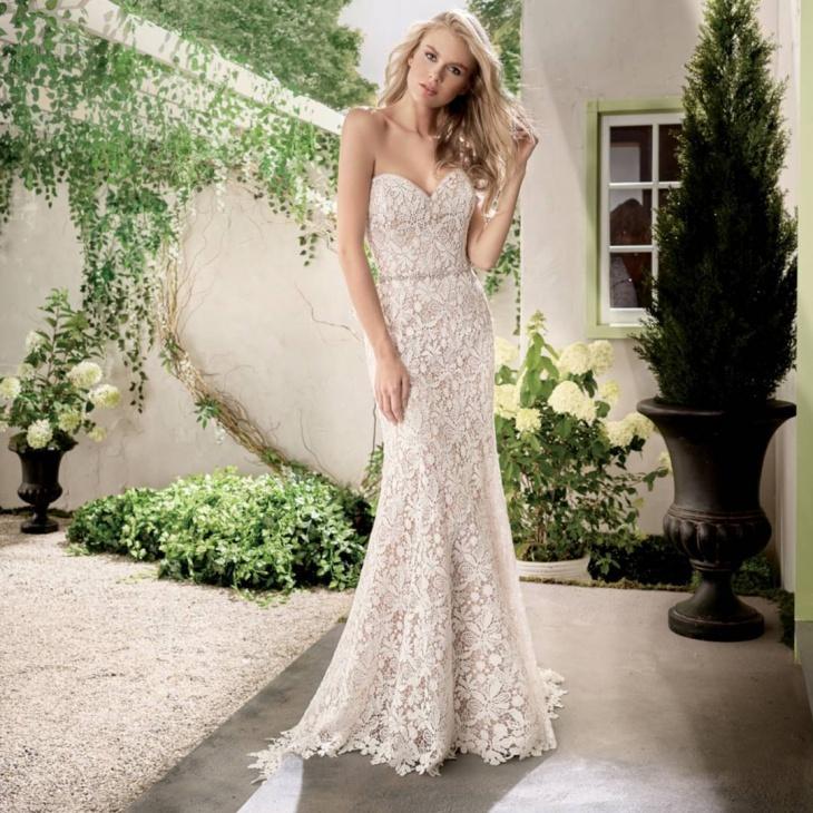 semi formal wedding dress