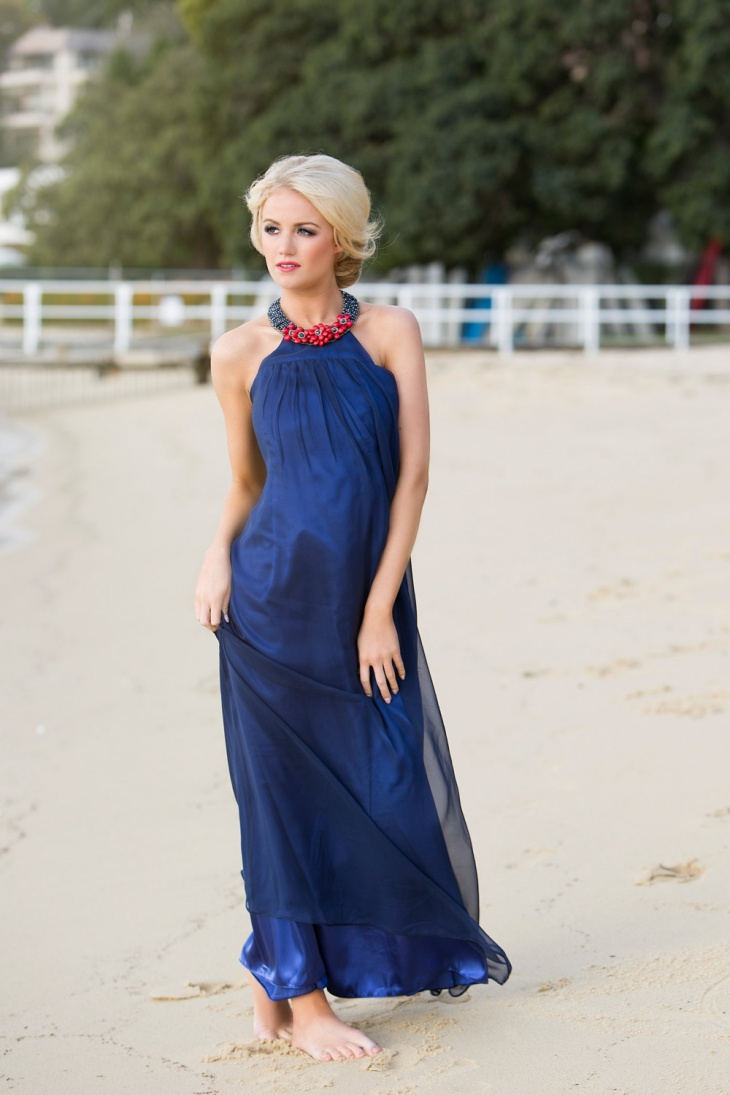 Image result for on the beach in a formal dress