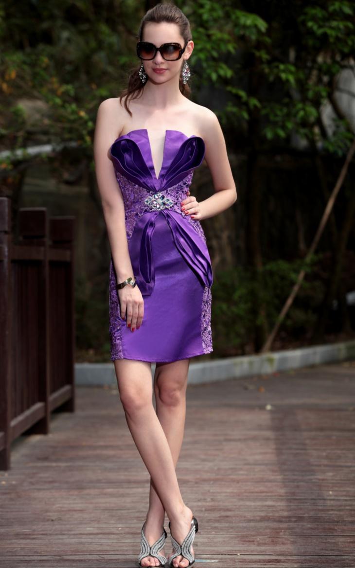 lace vintage formal dress