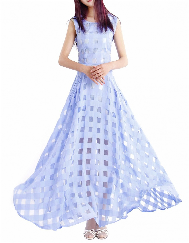 beach formal maxi dress