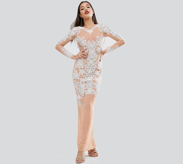 semi formal prom dress