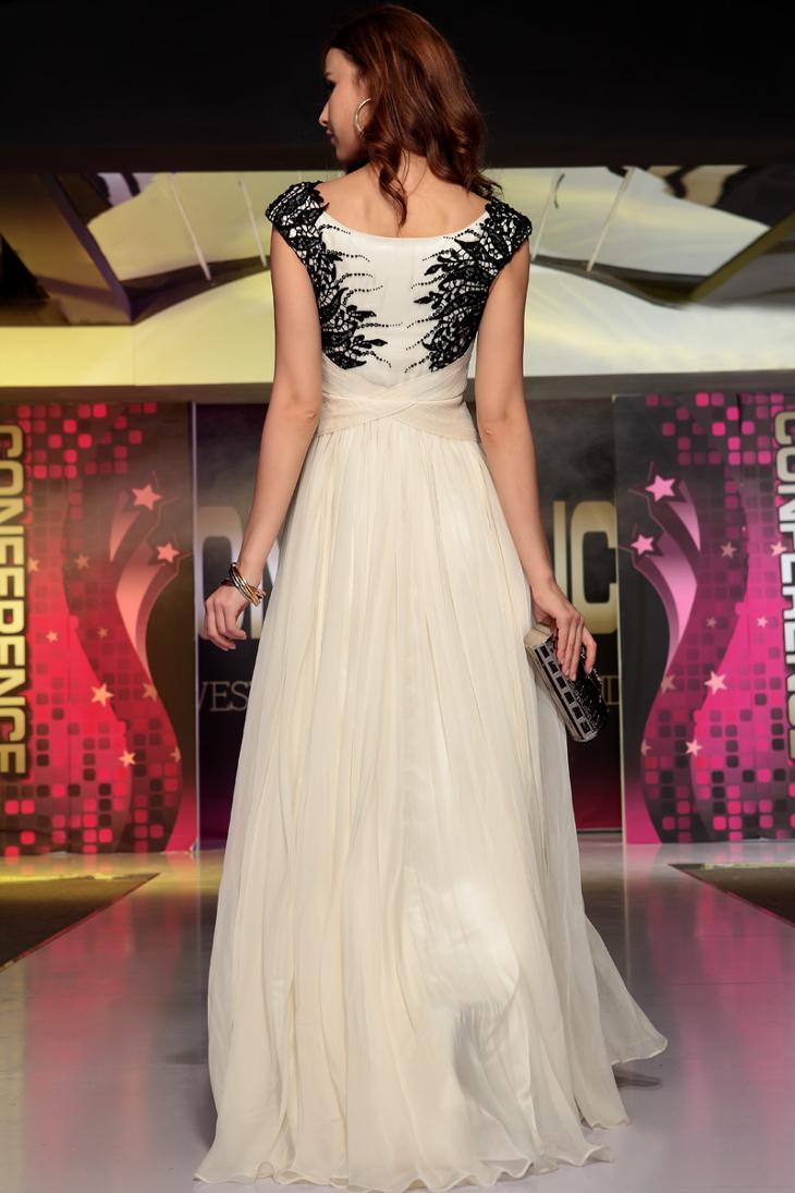 black and white formal dress1