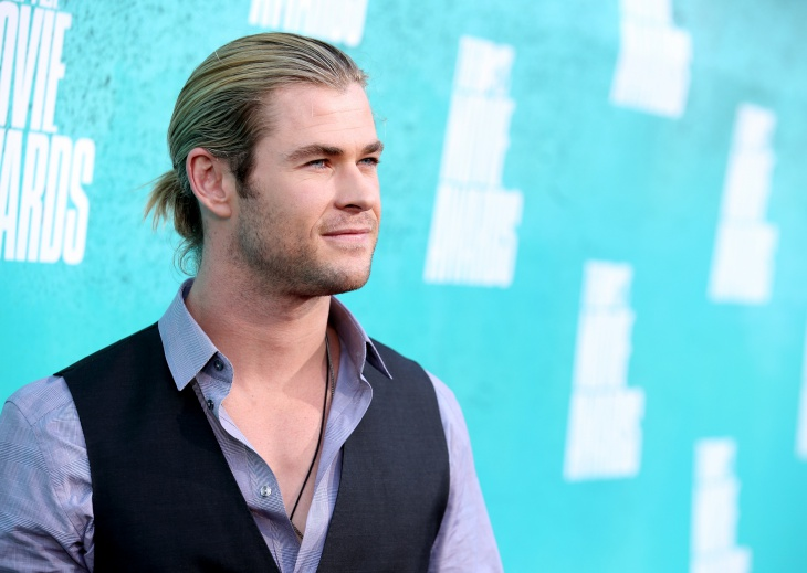 chris hemsworth samurai hair design