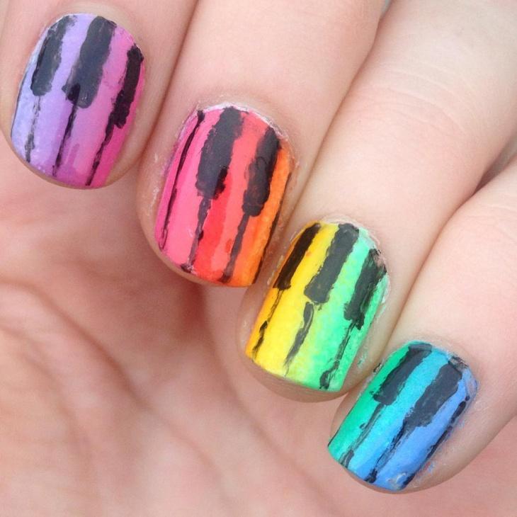13 piano nail designs ideas design trends premium psd cute piano and music toe nail art design prinsesfo Images