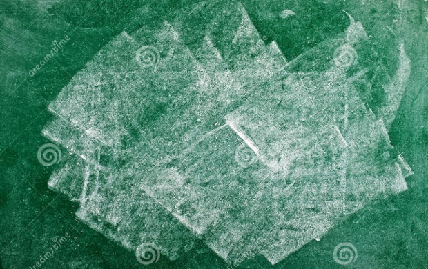 green and white chalkboard texture