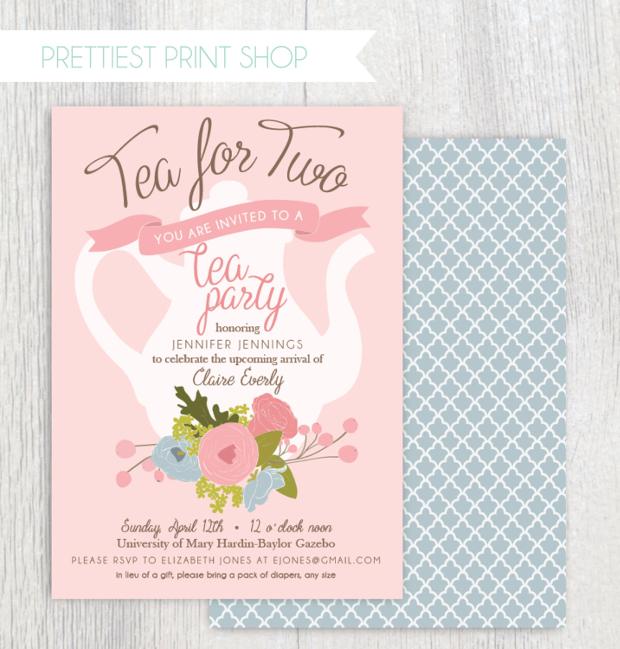 Kitchen Tea Invitation Templates Free Download: 19+ Tea Party Invitation Designs