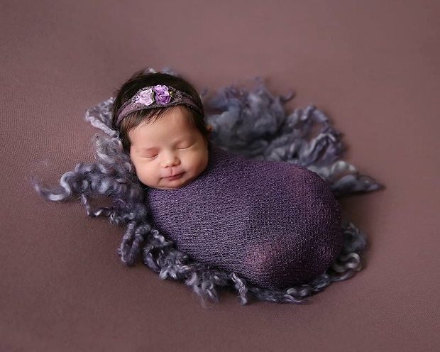 baby wrap photography