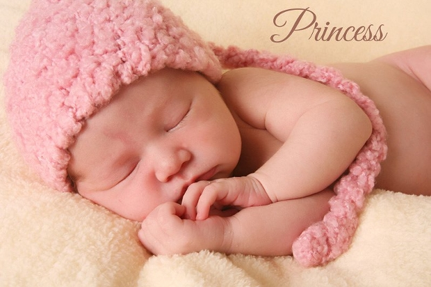 baby princess photography