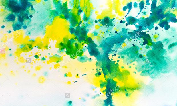 Watercolor Splatter Texture