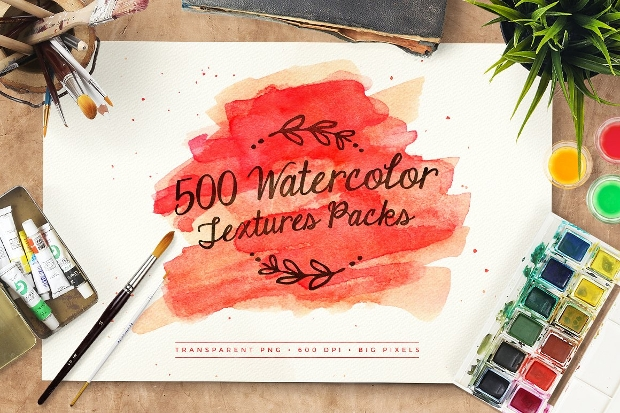 High Quality Watercolor Texture